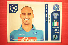 PANINI CHAMPIONS LEAGUE 2011/12 N 58 CANNAVARO NAPOLI WITH BLACK BACK MINT!!