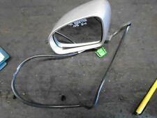 VW New beetle 9C 1999-2005 Passengers left side wing mirror Silver 5pins Inc VAT