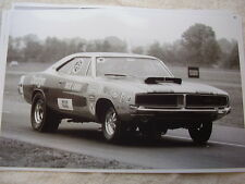 1969 DODGE CHARGER  DICK LANDY RACE CAR   11 X 17  PHOTO   PICTURE