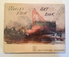 Official Art Book of NY World's Fair 1964-65- Men at Work by Luciano Guarnieri