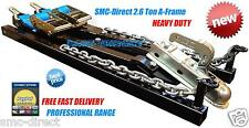 SMC Towing A Frame 2.6Ton Car Recovery Dolly Trailer Heavy Duty Professional NEW