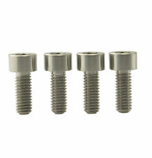 4Pcs M6 x 15mm Titanium Ti Screw Bolt For Shimano XTR, XT, SLX Disc Brake Calipe