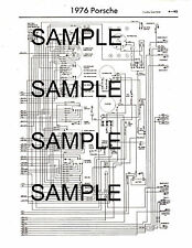 1985 MERCEDES 380 SE 500 SEC 500 SEL COLOR CODED CHASSIS WIRING DIAGRAM 85BK 7PG