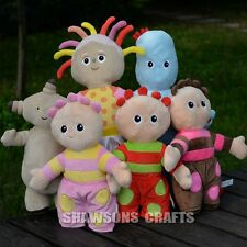 IN THE NIGHT GARDEN PLUSH TOYS SET UPSY DAISY IGGLE PIGGLE MAKKA PAKKA TOMBLIBOO