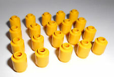 Lego (3062b) 20 Rundsteine 1x1x1, in gelb aus 30057, 4955, 7637, 7207