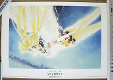 Pretty Soldier Sailor Moon 1000EDT Naoko Takeuchi Poster Anime Manga Artbook pic