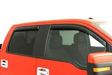 Window Vent Visors Shades IN CHANNEL 194155 For: FORD F-150 SUPER CREW 2009-2014