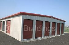 DURO Steel Prefab Mini Self Storage 40x360x8.5 Metal Building Structures DiRECT