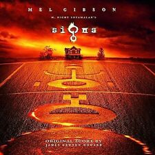 Signs [Original Score] by James Newton Howard (CD-2002, Hollywood) NEW SEALED