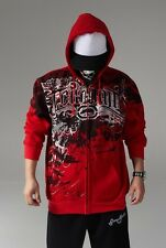 4#21 Men Hip Hop Ecko Uultd Zipper Hoodie Cotton Lovely Minni Sweater Sweatshirt