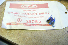 new dayton 2e055 combination on-adjustable -off tripper ~ lot of 4