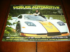 2008 MOSLER AUTOMOTIVE HIGH PERFORMANCE SPORTS CAR  ***ORIGINAL AD***