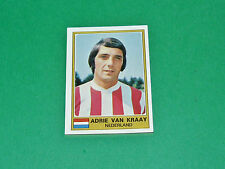 N°205 VAN KRAAY PSV EINDHOVEN NEDERLAND PAYS-BAS PANINI EURO FOOTBALL 1976-1977