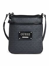 NWT Women Guess Handbag Proposal Crossbody - black / coal