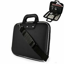 Mens Sumaclife Handbag PU Leather Briefcase Laptop Tablet Shoulder Messenger Bag