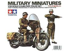 Tamiya 35084 1/35 Scale Miniature Model Kit U.S Military Police Set