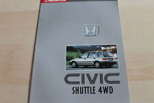 136885) Honda Civic Shuttle 4WD Prospekt 199?