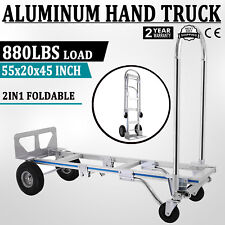 be3017d653c8 Harper Trucks Lightweight 400 lb Capacity Nylon Convertible Hand ...