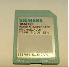 Simatic Micro Memory Card MMC 512KB  6ES77953 8LJ30 0AA0