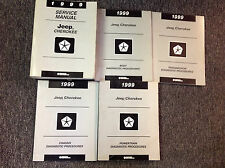 1999 JEEP CHEROKEE Service Shop Repair Workshop Manual Set W Diagnostics OEM