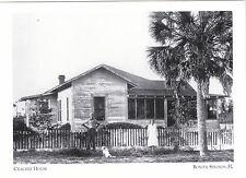 "*Postcard-""Cracker House""  (An Early Style of Home)  *Bonita Springs, FL. (#165)"
