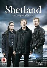 SHETLAND COMPLETE SERIES 1 AND 2 DVD + EXTRAS BOX SET All Episodes Sealed UK