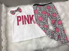 Toddler Girl Size 3T, Pink Outfit, 2pc Set, Clothes Lot