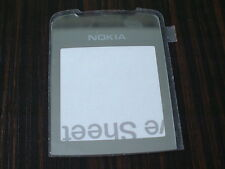 nokia 8800 sirocco front screen glass,  front lens glass, silver colour