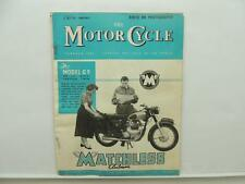 July 1957 The Motorcycle Magazine Matchless Clubman Model G9 Ariel L8736