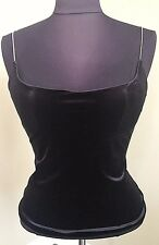 NEW LA PERLA RITMO di PERLA EVENING TOP Black Size 44 US Size 6-8