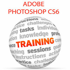 Adobe Photoshop tutorial DVD de entrenamiento de video-CS6