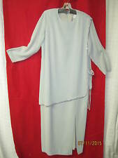 1970's/80's Couture Dress The Gray Rose green tunic Swarovski Rhinestones sz 14