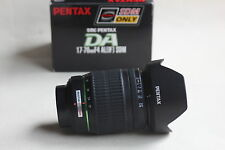 PENTAX SMC SDM DA 17 - 70 mm F4  Lens + CAPS + HOOD + BOX
