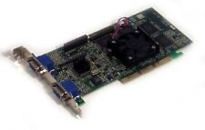 Dell Matrox G400 Max PWS 32 Dual  VGA AGP Video 8068R