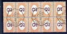 ITALIA - Regno - Segnatasse - 1870-1874 - Cifra in ovale carminio o bruna - 2 c.