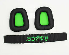 Replacement Earpad & Headband Cushions For Razer Electra Gaming Music Headphones