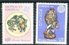Briefmarken Monaco Europa CEPT 1976 Nr : 1230 - 1231 ** Kunsthandwerk BR818