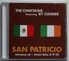 Chieftains Feat. Ry Cooder San Patricia Rare USA Adv CD Unique Cover