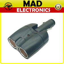 Car Accessory 12V CIGARETTE LIGHTER Socket Double Adapter