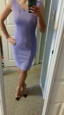 NWT Versace Versus lavender ruched dress size 38 US 4