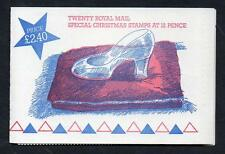 GB 1985 FX8 CHRISTMAS FOLDED BOOKLET