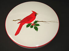 Otagiri Japan Gibson Greetings Trinket Box Red Cardinal Bird 9""