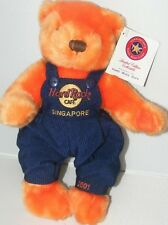 "Hard Rock Cafe SINGAPORE 2001 ""BETH"" Memorial Teddy Bear PLUSH #131/250 Leukemia"