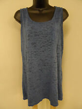 MAURICES Plus Size 4X Top BURNOUT Shirt DISTRESSED Cami Tank Cruise Trendy   NWT