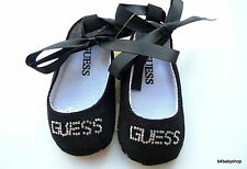 NEW Black baby girl ballet soft sole shoes w/rhinestones US Size 5 12-18M