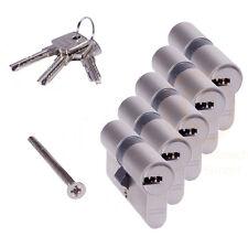 5 gleichschließende ABUS EC550 Profilzylinder Schließzylinder 3 Schlüssel N+G