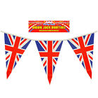 Union Jack Bunting Flags Queens Birthday Great Britain Decorations Party 25ft