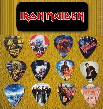 Iron Maiden -- Guitar Pick Tin includes 12 Guitar Picks *Limited Edition*