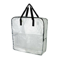 IKEA DIMPA STORAGE BAG CLEAR, PROTECTS CONTENTS AGAINST MOISTURE AND DIRT
