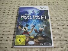 Micky Epic 2 Die Macht Der Zwei für Nintendo Wii und Wii U *OVP*